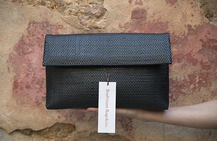 BonVivantBags - Bolso de mano negro