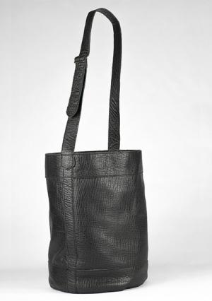 BonVivantBags - saco grande Sabah Negro 002 vista lateral