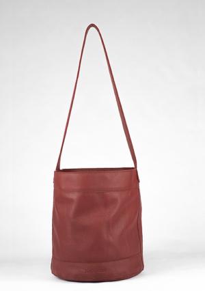 BonVivantBags - saco mediano Sabah Rojo Piel